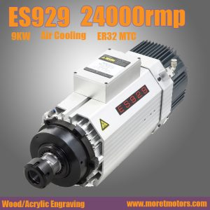 24000RMP  9.0KW ER32  air cooling spindle motor