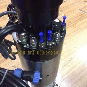 30000RMP 120mm 7.5kw ISO30/BT30 water cooling spindle motor