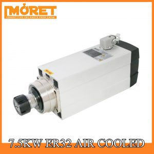 7.5kw air cooling ER32 spindle motor