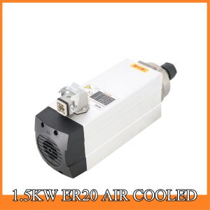 1.5kw air cooling ER20 spindle motor for wood cnc router