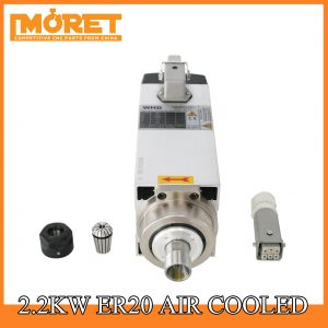 2.2kw air cooling ER20 spindle motor
