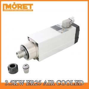 3.5kw air cooling ER25 spindle motor