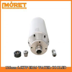 125mm 5.5KW water cooling ER25 spindle motor