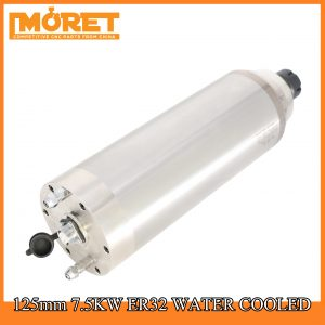125mm 7.5KW water cooling ER32 spindle motor