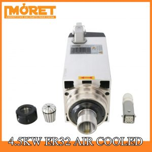 4.5kw air cooling ER32 spindle motor